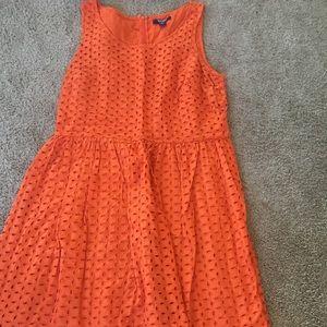 Orange sundress